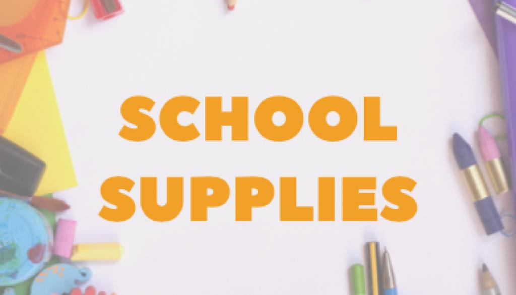 OCA Student Supply List